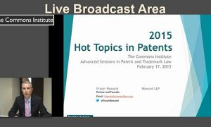 Advanced Sessions in Patent and Trademark Law