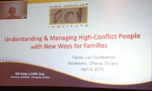 "High Conflict: The ""New Ways for Families"""