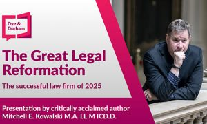 "The Great Legal Reformation"": Legal Innovation, Practice Management, Document Generation & Workflow Software, Artificial Intelligence, CRM"