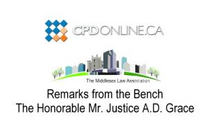 The Quick & Dirty Personal Injury Update: Remarks from the Bench; Tort Law Case Review: Causation & Discoverability; Hot Topics & Trends in Accident Benefits; A Case Comment: Merino v. ING