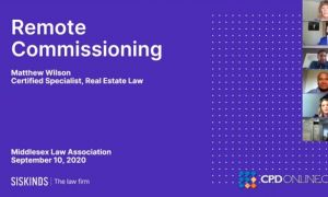 Remote Commissioning and Potpourri Real Estate Update