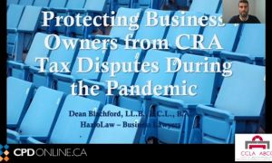 Solicitors Conference. Part 2: Commercial/Corporate.  CRA Audit Powers and Enforcement Primer for Solicitors;   Directors, and Officers Environmental Liability for Environmental Contamination; Commercial Lease Enforcement