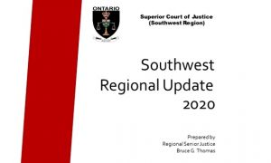 Update from the Bench for the Southwest Region;  Administrative Update for Civil litigators