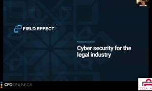 Practice Part 2: Protecting the protectors: Cyber security for the legal industry; Law Firm Valuation and succession planning?; The Value of the Local Lawyer when Meeting from Any Where is Possible; Diversity and Malpractice Claims