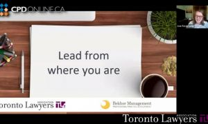 Lead from Where You Are