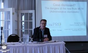 Case Dismissed? the Dangers of the Rule 48