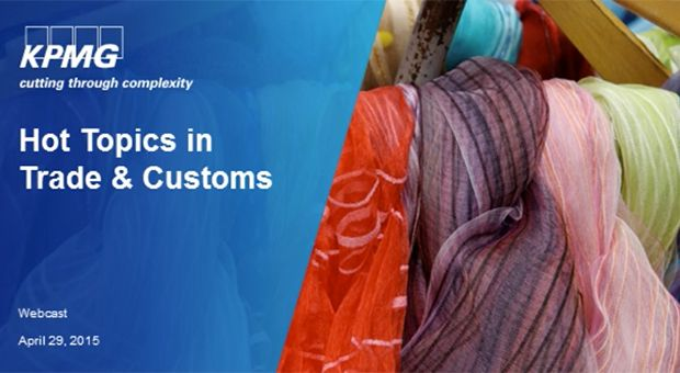 Hot Topics in Trade and Customs